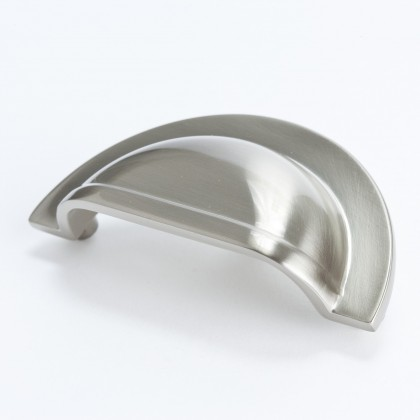 Cambridge Cup Pull (Brushed Nickel) - 3""