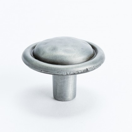 American Legacy Hammered Knob (Antique Pewter) - 1 3/8""