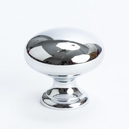 """Plymouth Knob (Polished Chrome) - 1 1/4"""""""