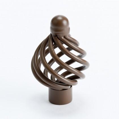 "Provence Knob (Rust) - 1 3/8"""