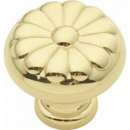 """Sechel Knob (Polished Brass) - 1 1/4"""""""