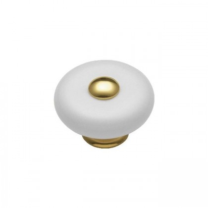 Knob (Polished Brass) - 1-1/2""