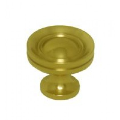 Knob (Polished Brass) - 3/4""