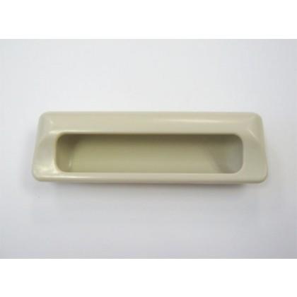 "ADA Plastic Recess Pull (Almond) - 5 1/4"""