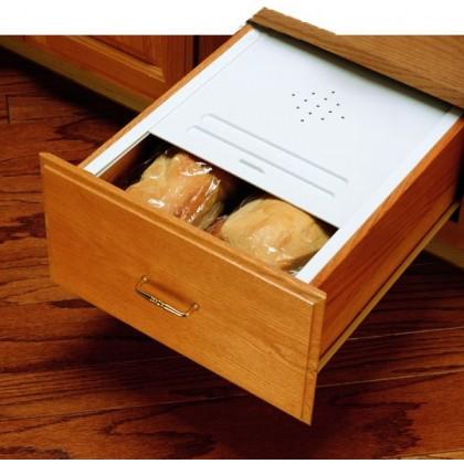 """16 3/4"""" Bread Drawer Cover Kit (White)"""