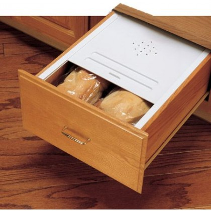 """16 3/4"""" Bread Drawer Cover Kit (Almond)"""