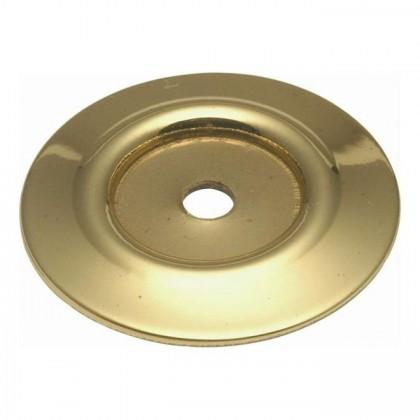 """Backplate (Polished Brass) - 1-1/4"""""""