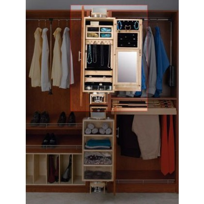 Pull-Out Ladies Armoire