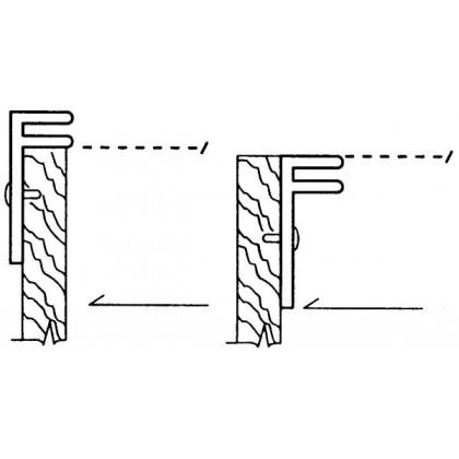 F-Channel Rail Kit - Extra Rails (Clear)