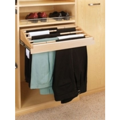 "24"" Pull-Out Pant Rack"
