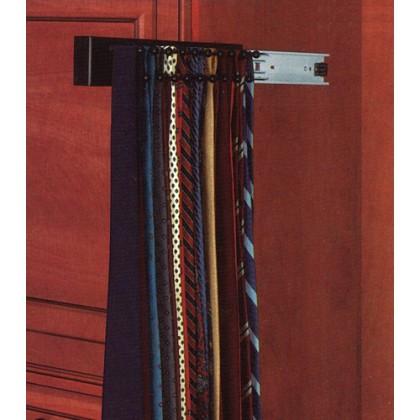 """12"""" Tie Rack (Black)"""