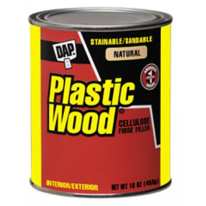 Plastic Wood Filler - Natural (4oz)