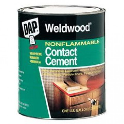 Non Flammable Contact Cement (Gallon)