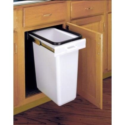Built-In Waste Bin (White)