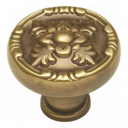 Richelieu Knob (Antique Brass) - 1 1/4""