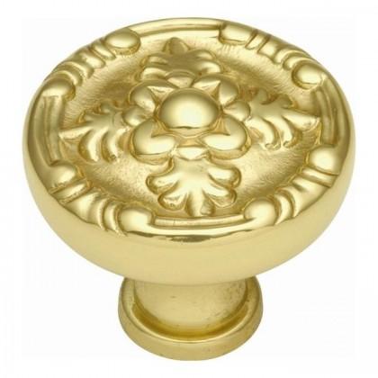 """Richelieu Knob (Polished Brass) - 1 1/4"""""""