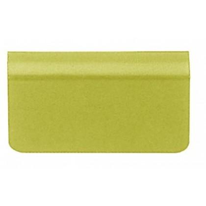 Glass Door Strike Plate W Adhesive Foam Pad Brass 4 6mm