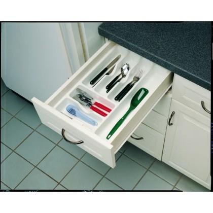 "14 1/4"" Cutlery Tray (Glossy White)"