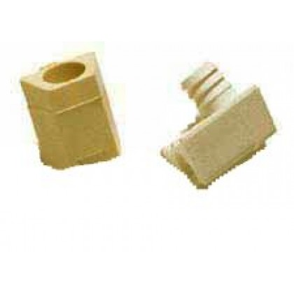 Connector Fitting, Almond