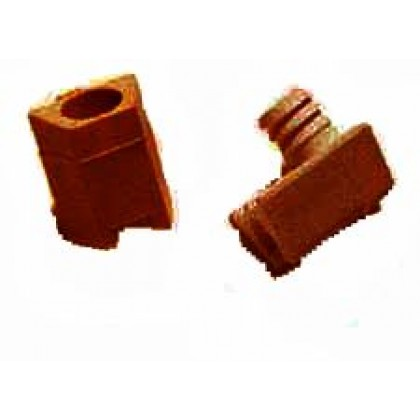 Connector Fitting, Walnut