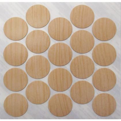 "Hardrock Maple Fast Cap (PVC) - 1"""