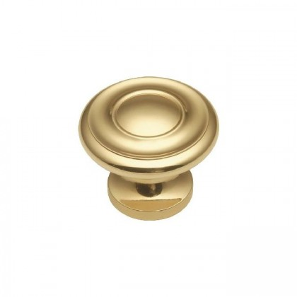 Knob (Polished Brass) - 1-1/4""