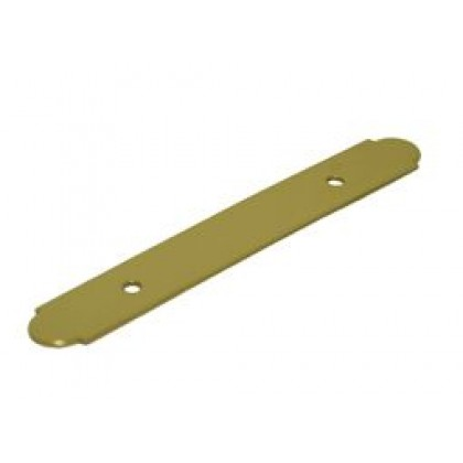"Backplate (Polished Brass) - 3/4"" x 5-1/2"""