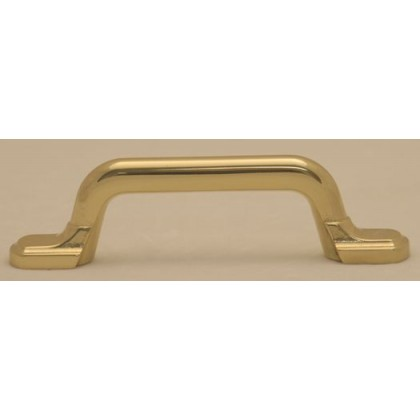 Pull (Polished Brass) - 3""