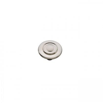 "Cavalier Knob (Satin Nickel) - 1-1/8"""