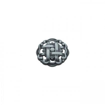 """Cavalier Knob (Antique Pewter) - 1 1/2"""""""