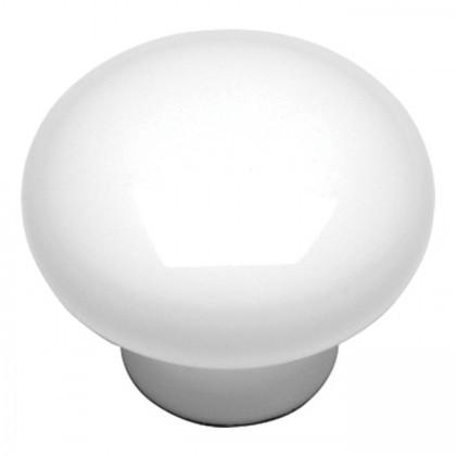 """Conquest Knob (White) - 1 1/8"""""""
