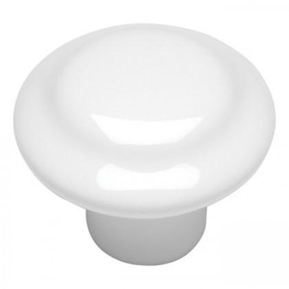 "Conquest Ring Knob (White) - 1 3/8"""