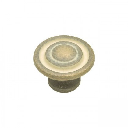 Knob (Blonde Antique) - 1-3/8""