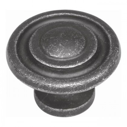 "Manchester Knob (Vibra Pewter) - 1 3/8"""