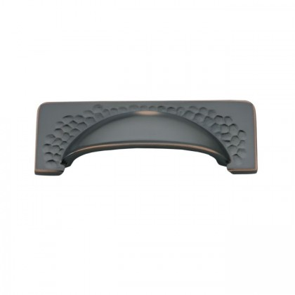 Craftsman Pull (Oil Rubbed Bronze Highlighted) - 96mm