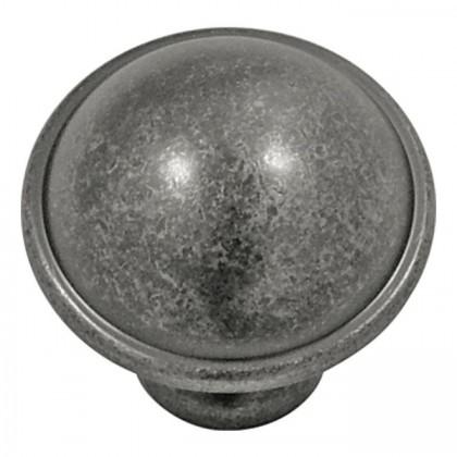 "Savoy Knob (Black Nickel Vibed) - 1 1/4"""