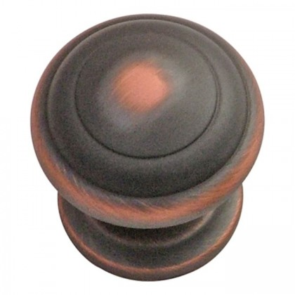 """Zephyr Knob (Oil Rubbed Bronze Highlighted) - 1 1/4"""""""