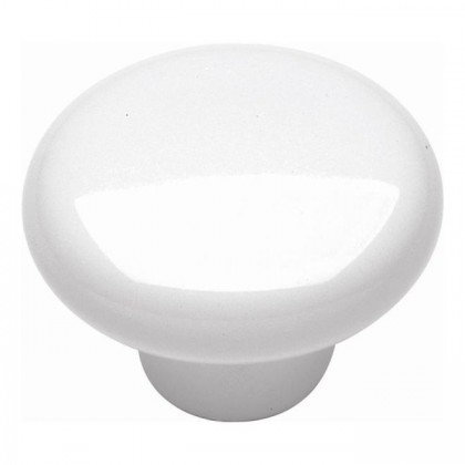 "Tranquility Knob (White) - 1 1/4"""