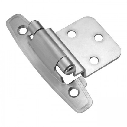 "3/8"" Offset Hinge (Satin Chrome)"