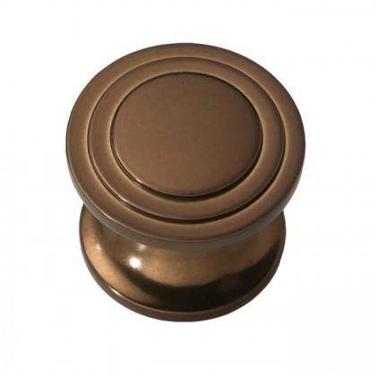 "Knob (Venetian Bronze) - 1"""