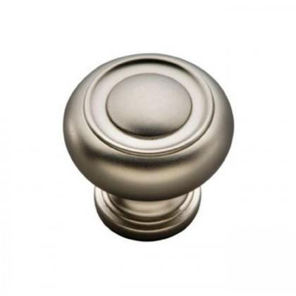 "Guild Knob (Flat Nickel) - 1-1/4"""
