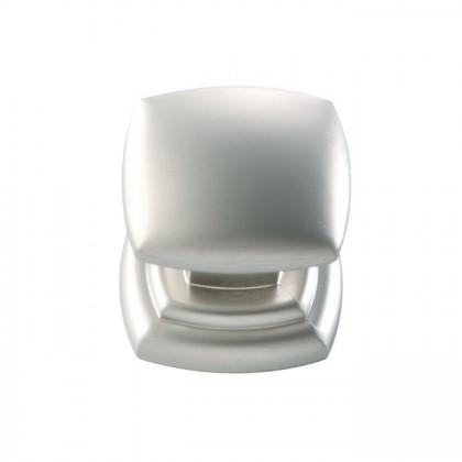 """Euro Contemporary Knob (Pearl Nickel) - 1-1/4"""""""