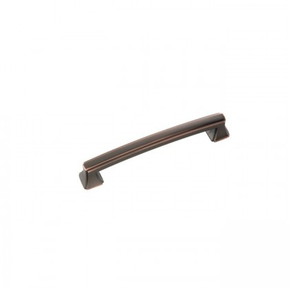 Bridges Pull (Oil Rubbed Bronze Highlighted) - 128mm