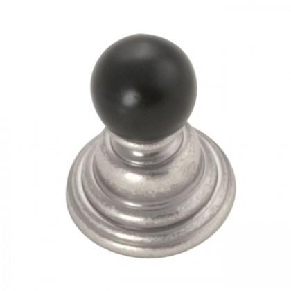 "Gaslight Knob (Black Nickel Vibed) - 15/16"""