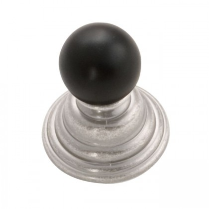 Gaslight Knob (Black Nickel Vibed) - 1-1/4""