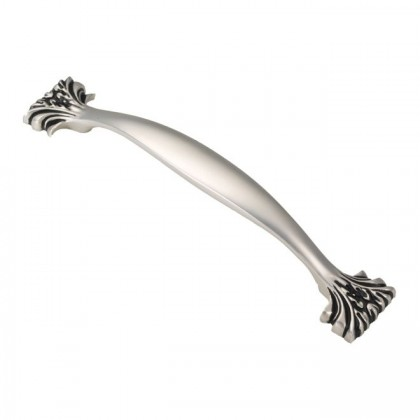 Ithica Pull (Satin Antique Silver) - 128mm