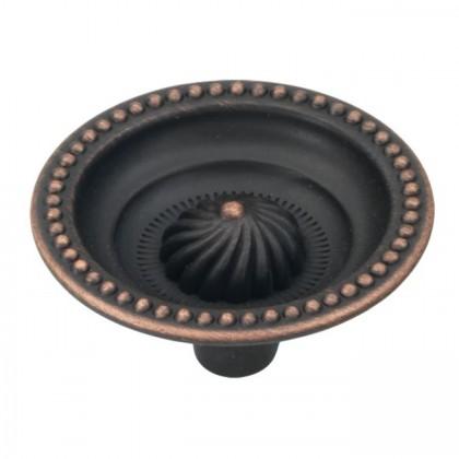"Roma Knob (Vintage Bronze) - 1 1/2"""