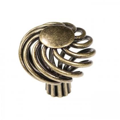 "Knob (Wrought Brass) - 1 5/8"""