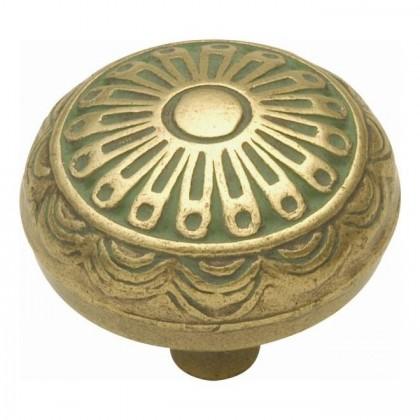 """Knob (Verde Antique) - 1-1/4"""""""