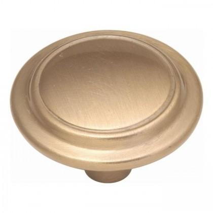 "Eclipse Knob (Satin Bronze) - 1 1/4"""